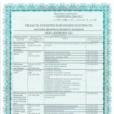 Свидетельство о тех. компетентности, стр 3